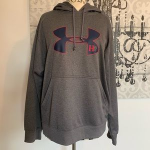 Under Armour grey drawstring hoodie